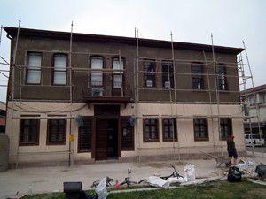 Batı Cephesi Karargah Müzesinin tamiri başladı