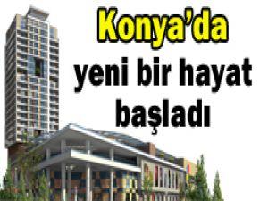 Kent Plaza Konyaya merhaba dedi