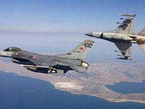 F-16 savaş uçakları kampları bombaladı