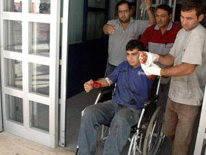 Konyada iş kazası: 2 yaralı
