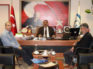 Etyemez, Konya SGK İl Müdürlüğünü ziyaret etti.