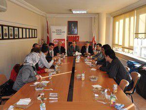 AK Parti Selçukludan Odalara ziyaret