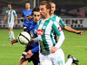 T.Konyaspor evinde mağlup
