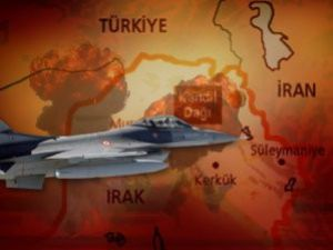 F-16lar PKKya Bomba Yağdırdı