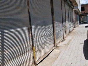 PKKnın kepenk kapattırmasına esnaftan tepki