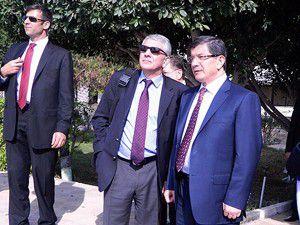 Dışişleri Bakanı Ahmet Davutoğlu Gazzede