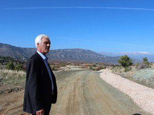 Arazi yolları asfaltla kaplanıyor