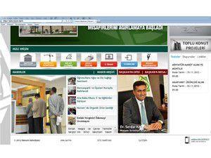 Meram Belediyesi internet sitesini yeniledi