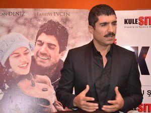 Özcan Deniz Konyada film gösterimine katıldı