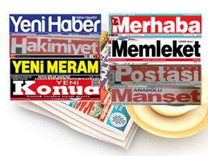 Konyada günün gazete manşetleri