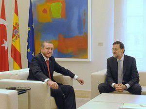 Erdoğan İspanyada