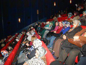 KARMEK, kursiyerlere sinema keyfi yaşattı