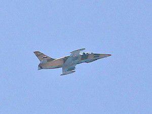 Savaş uçağının düşürüldüğü iddia edildi