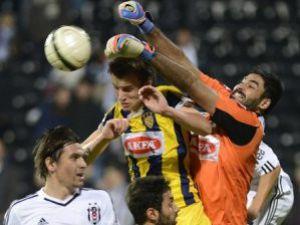 Beşiktaş Ankaragücü karşısında zorlandı