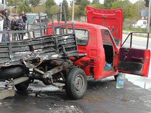 Beyşehirde trafik kazası: 2 yaralı