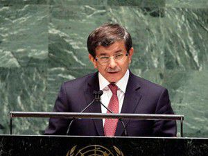 Davutoğlu BM Genel Kurulunda alkışlandı