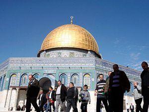 Kudüsteki Filistinliler heyecanı yaşayamadı