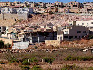 3 bin konutluk Yahudi yerleşim yeri