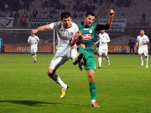 Konyaspor sahasında 2 puan bıraktı