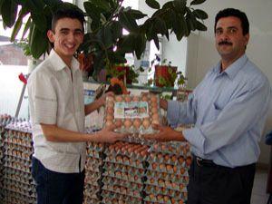 Ramazan, yumurta üreticisinin yüzünü güldürdü