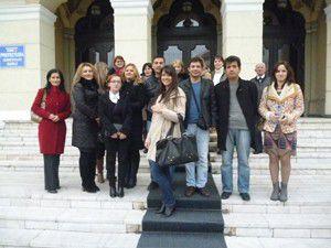 Proje ekibi Romanyadan döndü