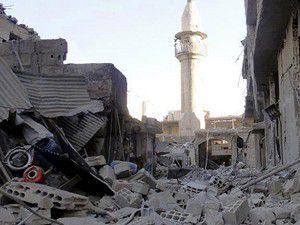 Şamda okula saldırı