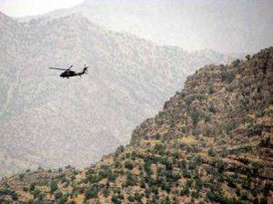 13 terörist öldürüldü 5 PKKlı da sağ yakalandı