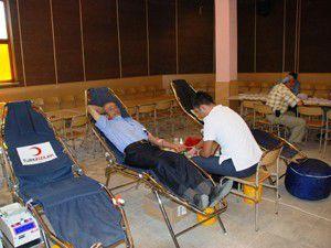 Sarayönünde kan bağışı kampanyası