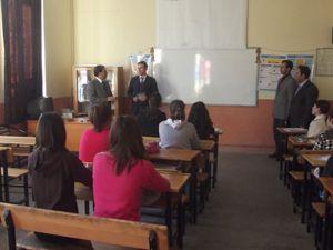Karapınar Milli Eğitim Müdürü, hazırlık kurslarını gezdi