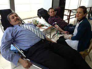 Mali Müşavirlerden kan bağışı
