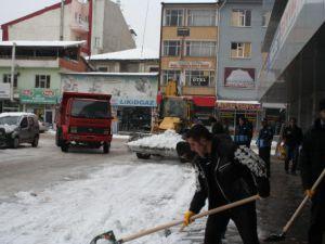 Beyşehir Belediyesi kışa hazır