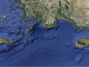 Akdenizde 4.1 büyüklüğünde deprem