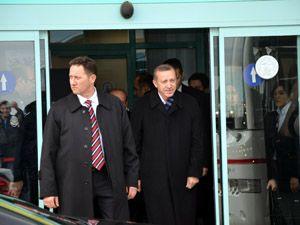 Başbakan Erdoğan, Konyaya geldi