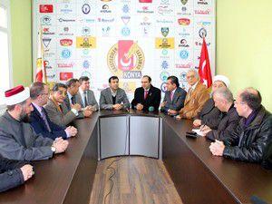 Lübnan heyeti Konyada