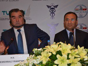 Türkiye-Tacikistan Ticaret ve Yatırım Forumu