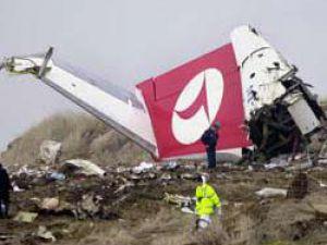 THY Uçağı Yere Çakıldı