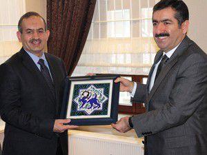 Irak Heyetinden Vali Doğana ziyaret
