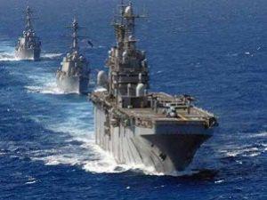 Rus Savaş Gemilerinin Rotası Suriye!