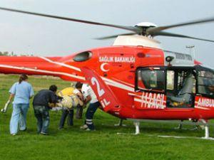 İyiki helikopter ambulans var!