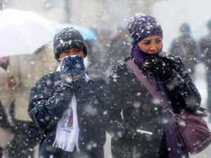 Marmaraya kar ve fırtına uyarısı