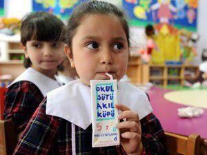 Okul sütü teklifleri verildi
