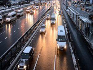 Kar önlemleri trafiği rahatlattı