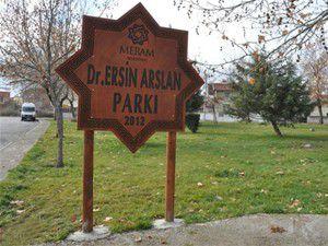 Arslanın ismi Meramda bir parka verildi