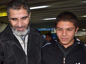 Suriyede serbest bırakılan Türk Konyada
