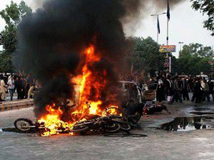 Pakistanda intihar saldırısı
