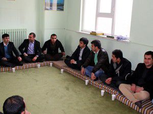 Afganistan heyeti, öğrencilerle bir araya geldi