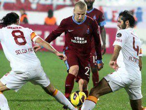 Galatasaraya Fırtına engeli: 0-0