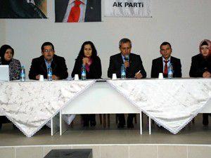 AK Parti Sarayönünde toplandı