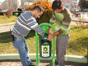 Ereğli Belediyesinden 500 noktaya çöp kutusu