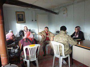 Sarayönünde kadınlara organik tarım eğitimi
